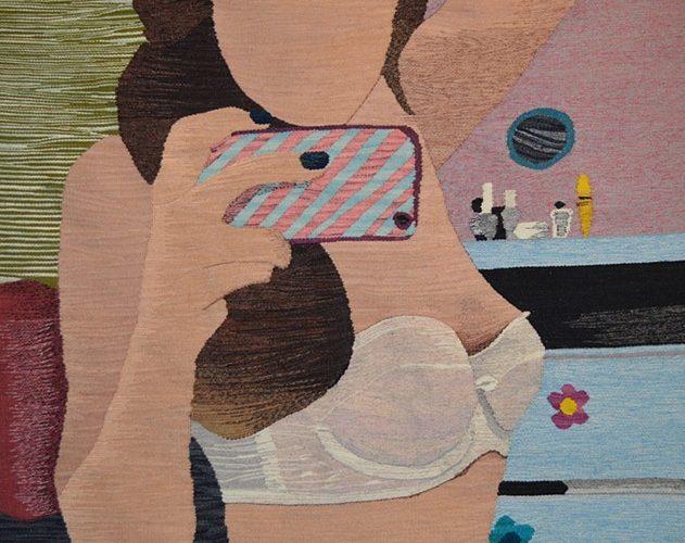 Erin M. Riley – Tapestry