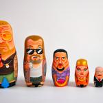 Andy Stattmiller – Nesting Dolls – Icone pop trasformate in matrioske   Collater.al