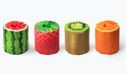 Kazuaki Kawahara – The Fruits Toilet Paper
