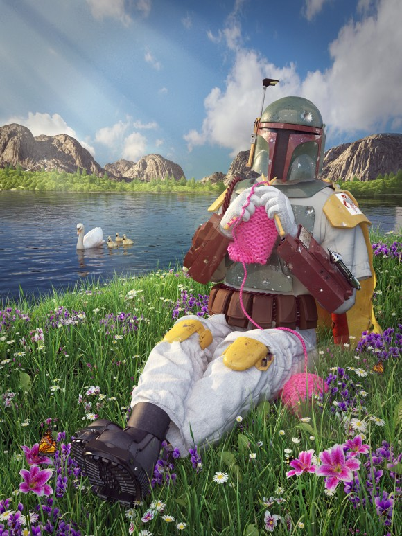 Kyle Hagey - The Softer Side of Star Wars - Boba Fett