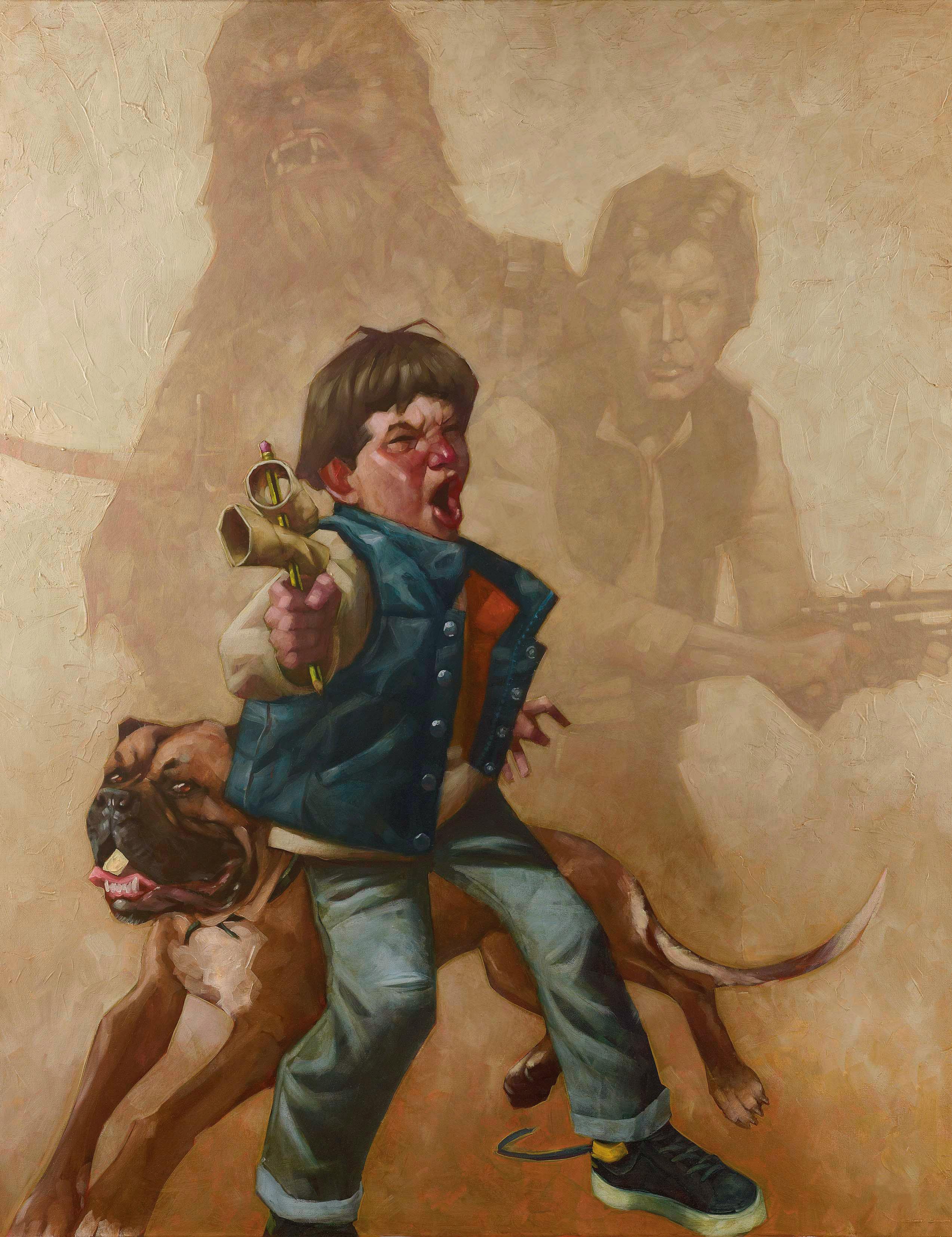 Craig Davison - Star Wars Paintings | Collater.al
