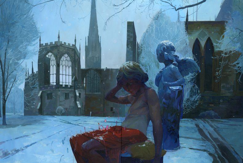 I dipinti surreali di Andrew Hem