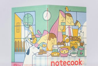 Notecook piccole storie illustrate di alimentazione vegan | Collater.al