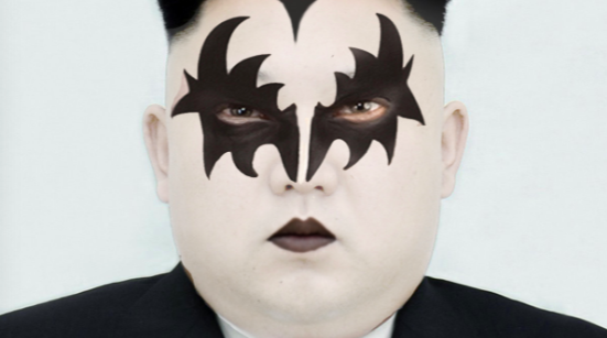 Kim Jong-Un Plays Dress-up