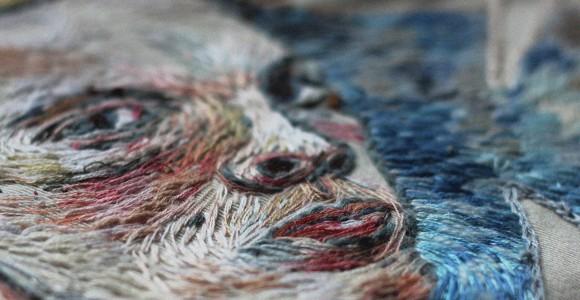Embroidery. Splendidi ricami a mano realizzati dall'artista russa Lisa Smirnova.