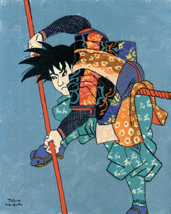 Takao Nakagawa - Ukiyoe Character series1