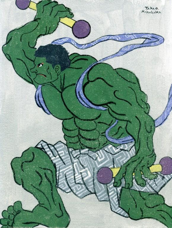 Takao Nakagawa - Ukiyoe Character series13