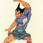 Takao Nakagawa – Ukiyoe Character series: icone pop in antico stile giapponese | Collater.al