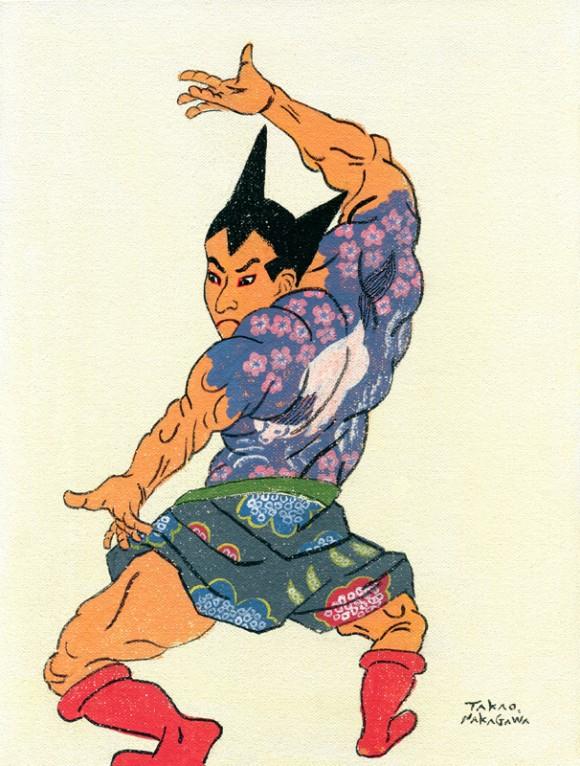 Takao Nakagawa - Ukiyoe Character series17