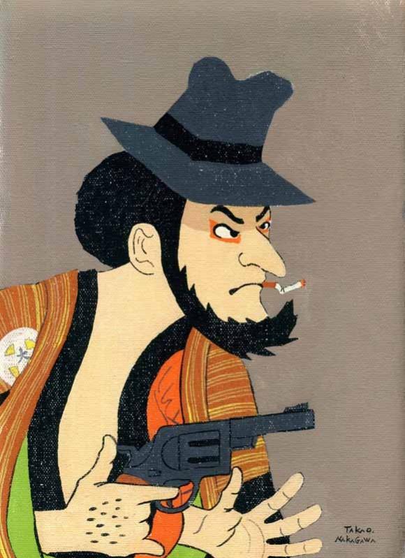 Takao Nakagawa - Ukiyoe Character series4