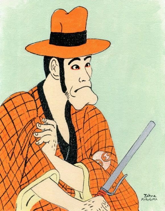 Takao Nakagawa - Ukiyoe Character series7