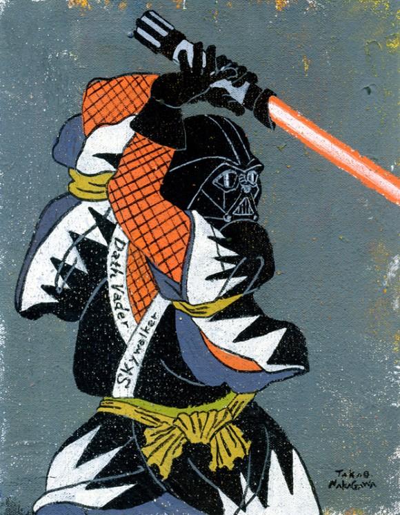 Takao Nakagawa - Ukiyoe Character series8