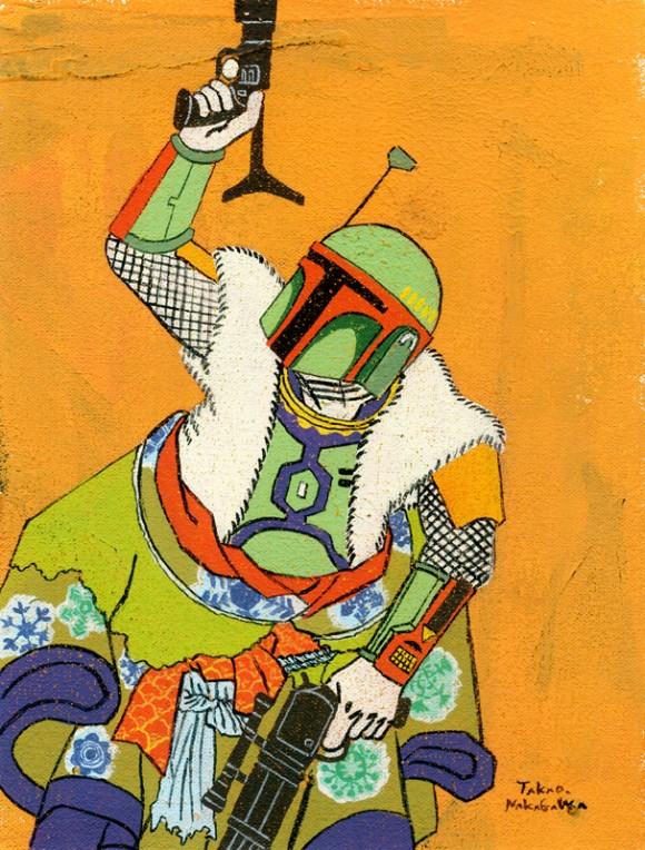 Takao Nakagawa - Ukiyoe character Series11