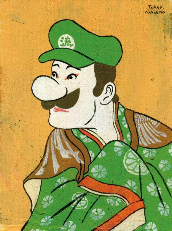 Takao Nakagawa - Ukiyoe character series15