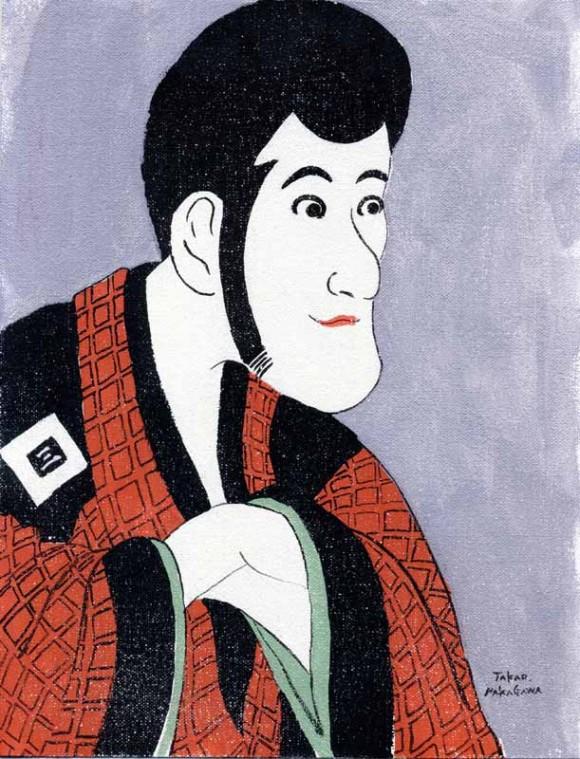 Takao Nakagawa - Ukiyoe character series3