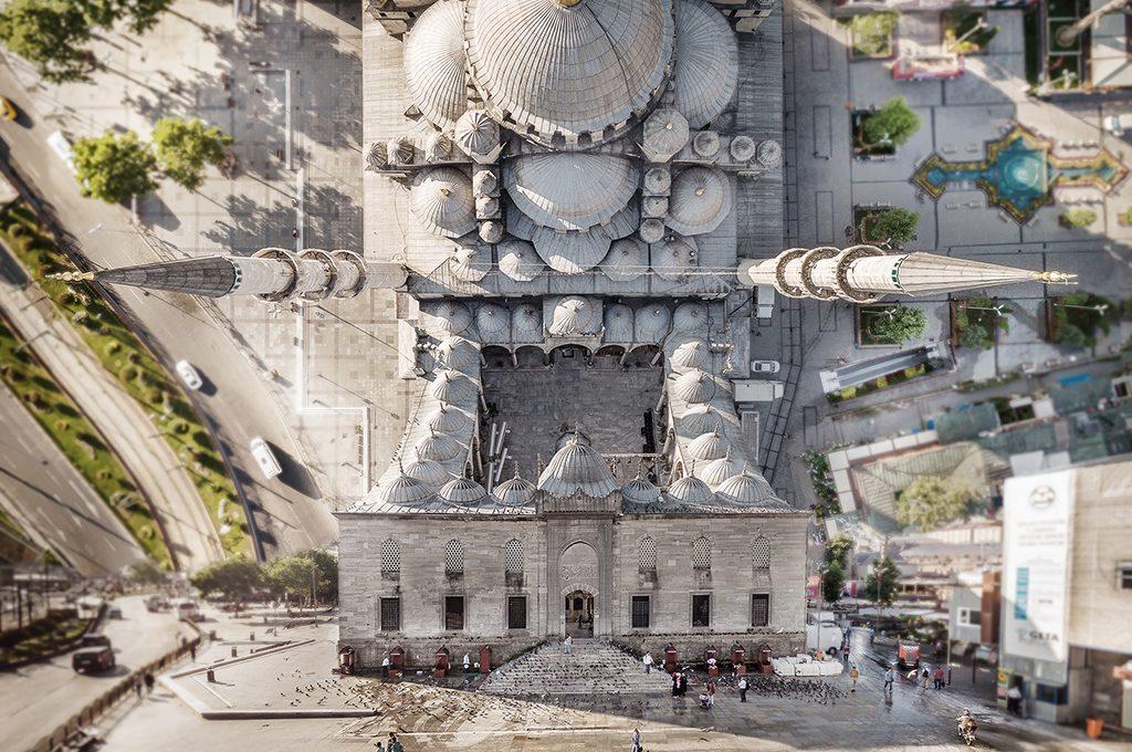 Flatland, le fotografie multidimensionali di Aydın Büyüktaş | Collater.al