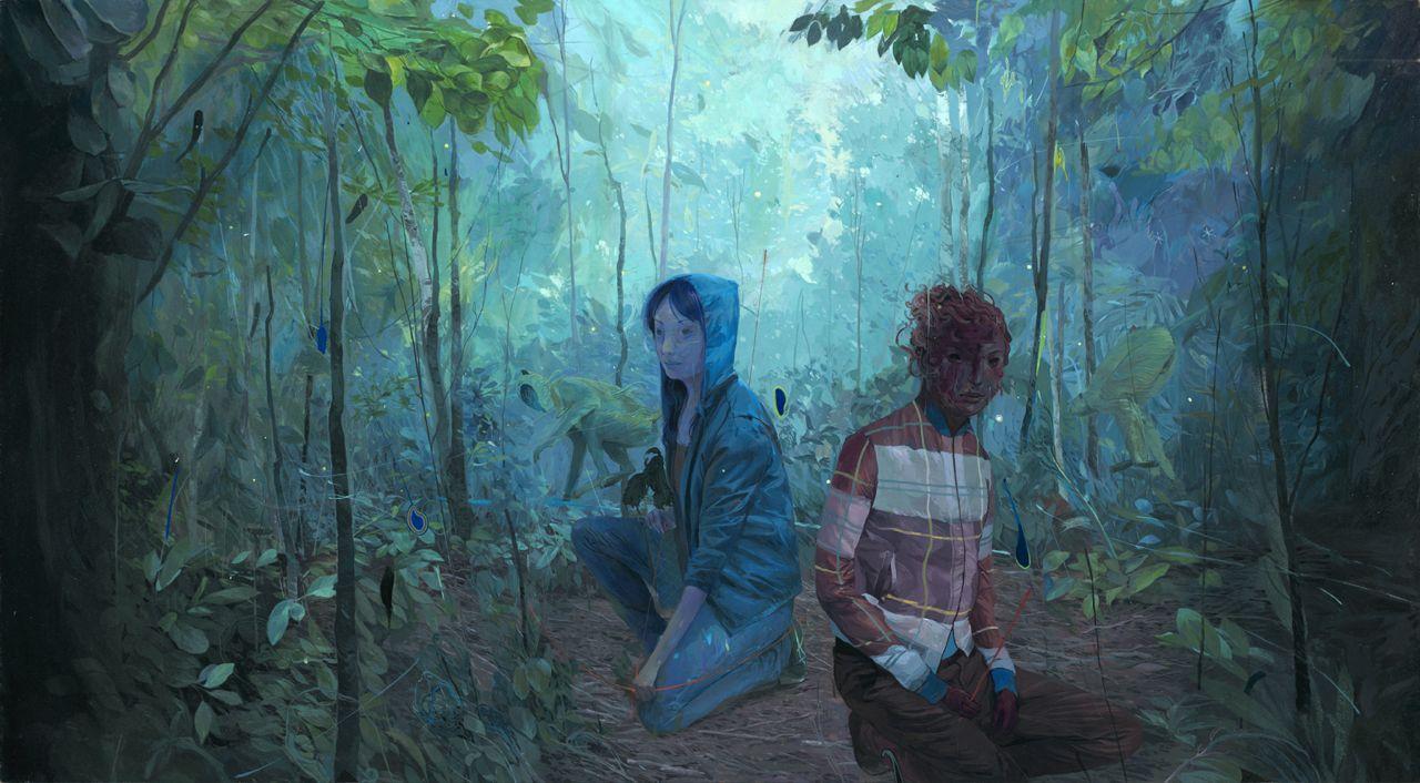 Andrew Hem - Pittore e illustratore cambogiano, autore di opere surreali   Collater.al