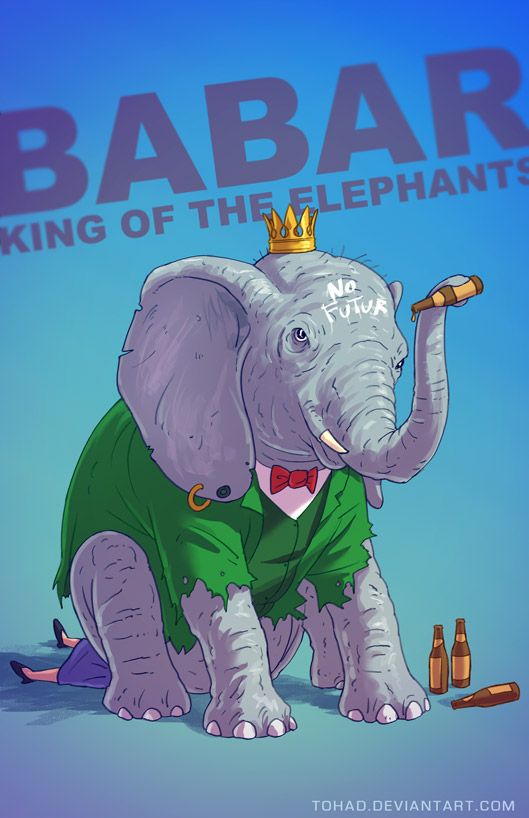 I Badass Cartoons dell'illustratore Tohad