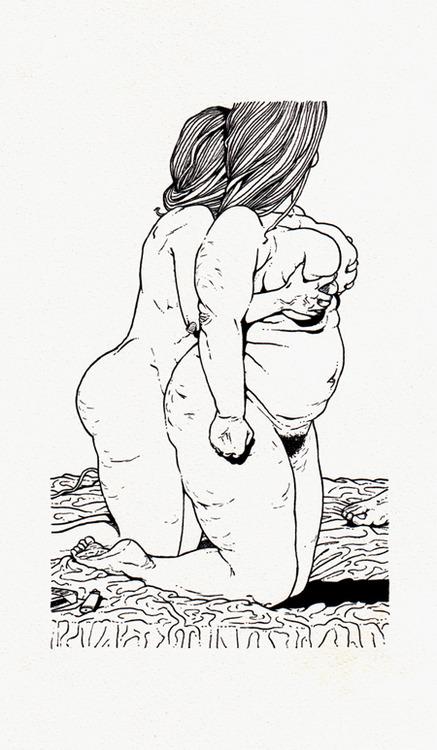 Le illustrazioni noir del francese Paul Lacolley