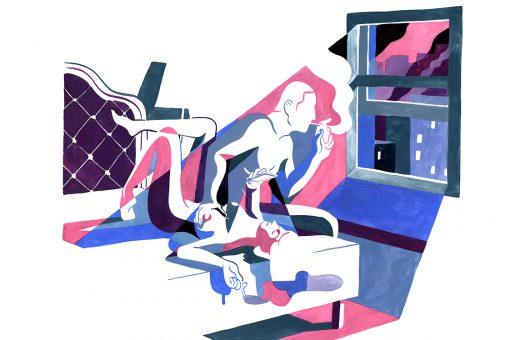 Le illustrazioni sensuali di Kim Roselier