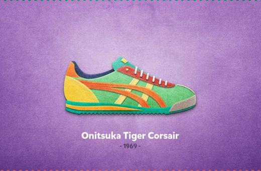 20 Sneakers da leggenda illustrate da Mantas Bačiuška