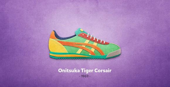 Colorful Sneakers - 20 Sneakers da leggenda illustrate da Mantas Bačiuška | Collater.al
