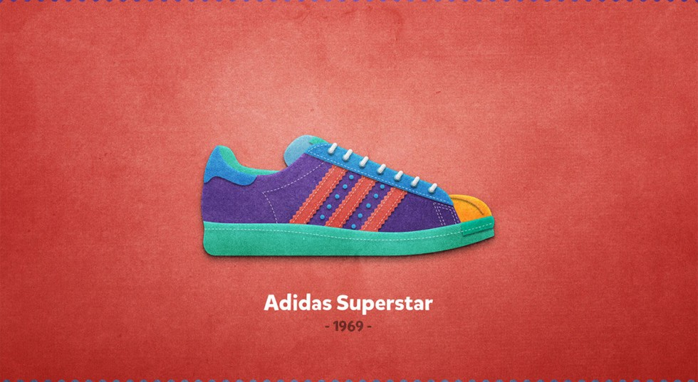 Colorful Sneakers - 20 Sneakers da leggenda illustrate da Mantas Bačiuška | Collater.al