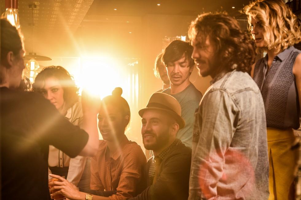 Nel backstage del nuovo spot Camparisoda | Collater.al