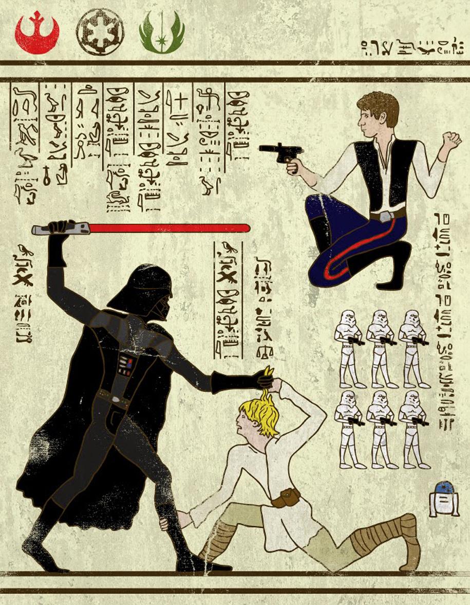 Hero-Glyphics - I supereroi dell'antico egitto | Collater.al