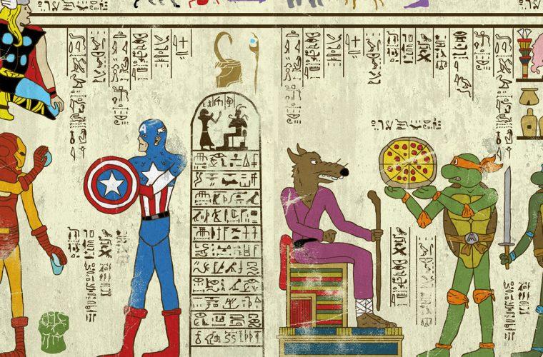 Hero-Glyphics – I supereroi dell'antico egitto
