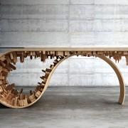 Wave City Dining Table - Il Nuovo Tavolo da Capogiro di Stelios Mousarris | Collater.al