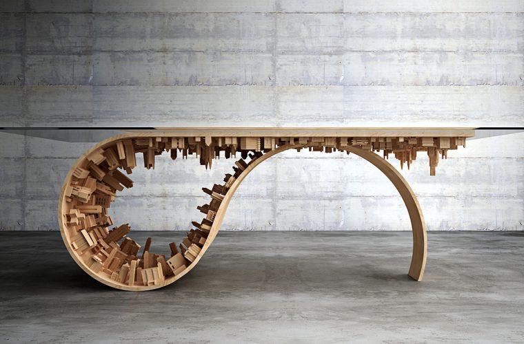Wave City Dining Table – Il Nuovo Tavolo da Capogiro di Stelios Mousarris