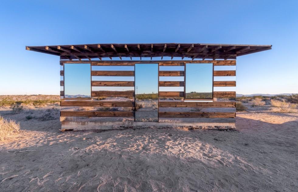 La casa che riflette il deserto | Collater.al 1