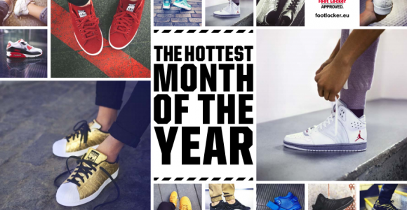 Sneakers - The Hottest Month of the Year | Collater.al