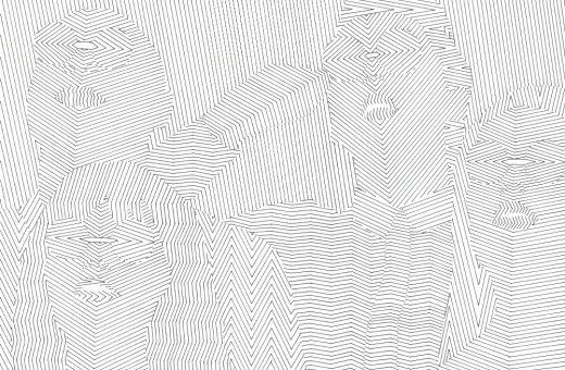 Le minimali illustrazioni optical di Noemi Schipfer
