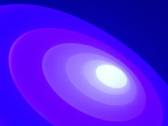 plafond circle blue 2