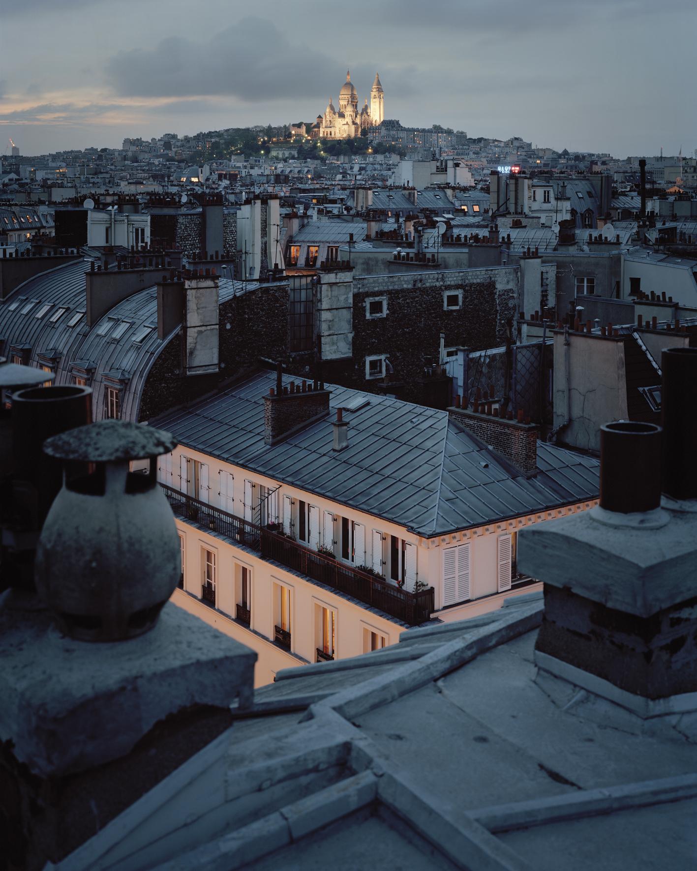 Parigi e gli scatti insonni di Alain Cornu | Collater.al