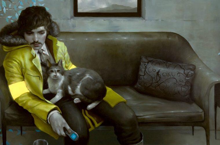Gli apatici dipinti retro di Jonathan Viner