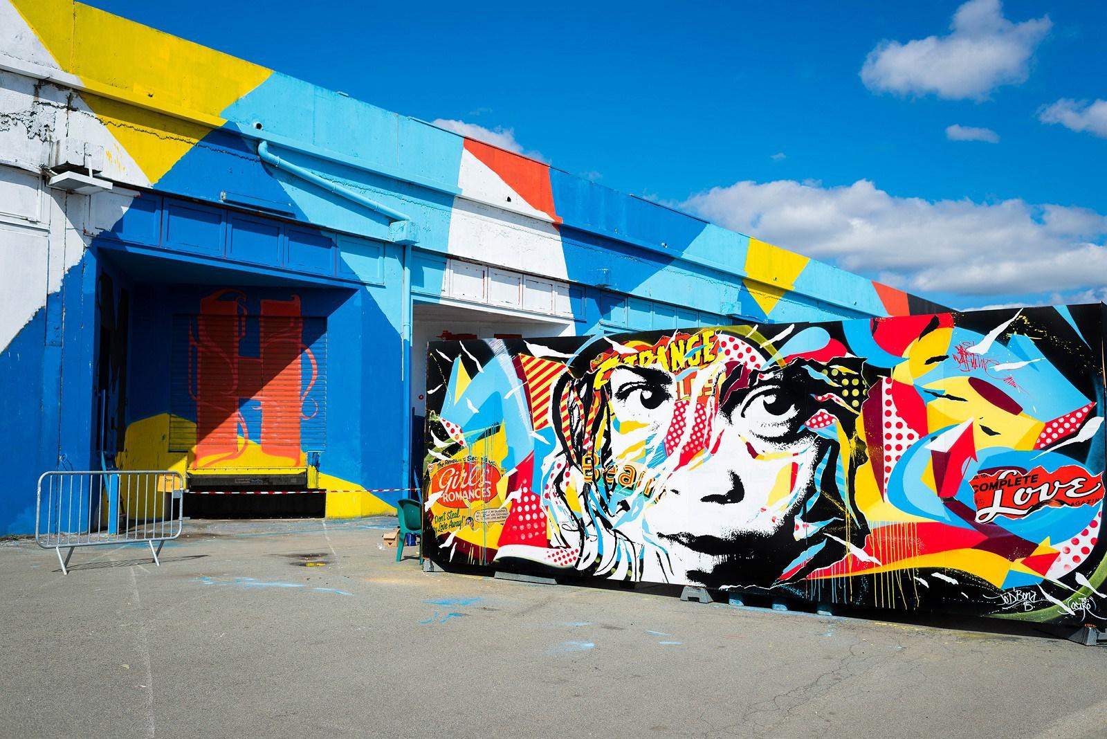 I Graffiti Super Pop di Jo Di Bona