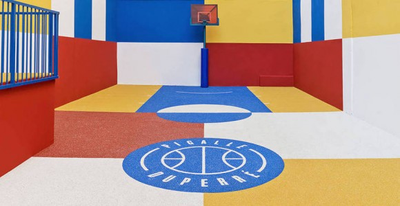 Pigalle Duperré Basketball Court | Collater.al