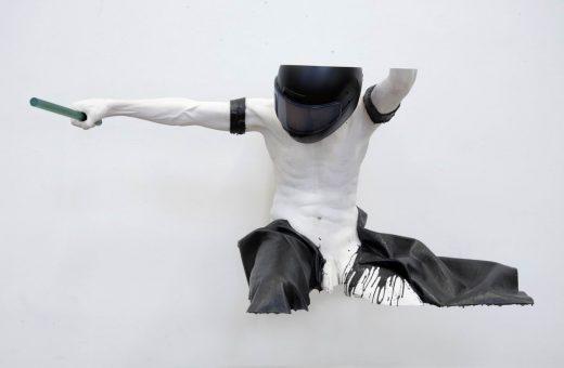 Le incredibili sculture in legno e alluminio di Gregor Gaida