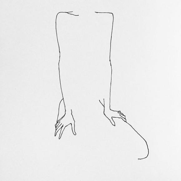 FLe sensuali linee di Frédéric Forest | Collater.al