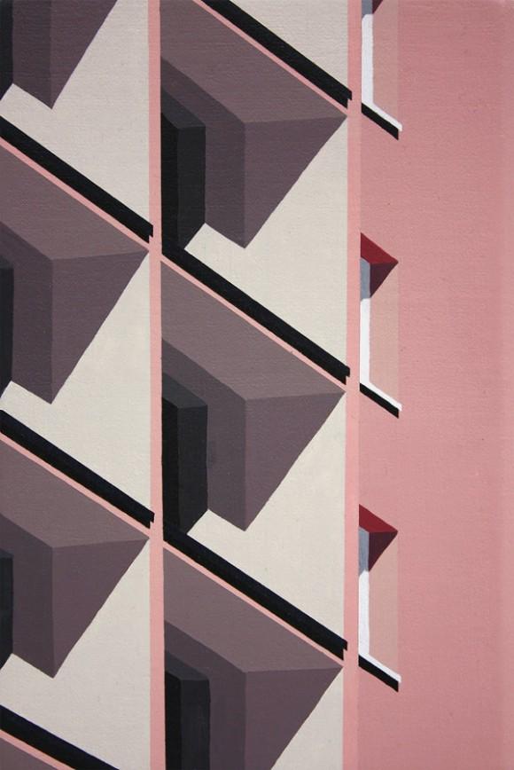 I dipinti architettonici di Roos van Dijk | Collater.al