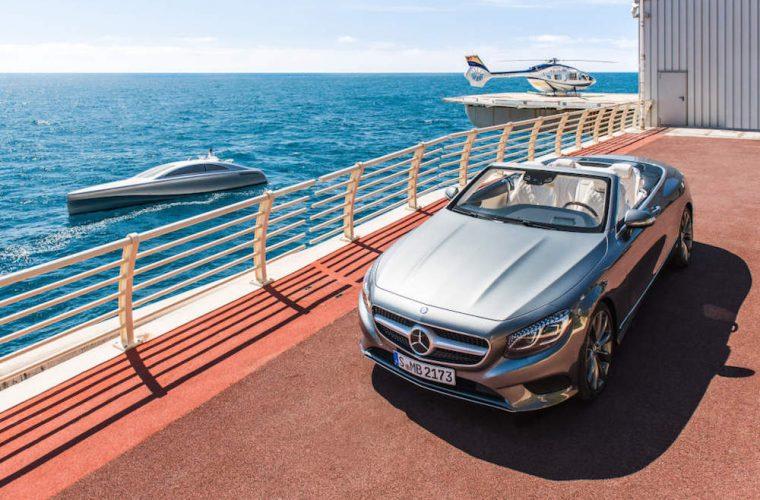 In Costa Azzurra con Mercedes Classe S