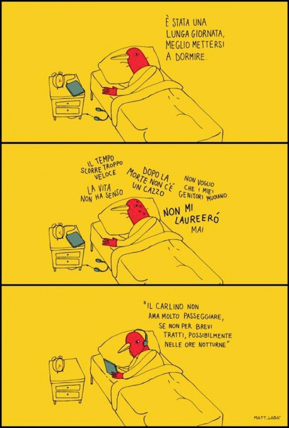 Gli ironici uomini uccello di Mattia Labadessa | Collater.al