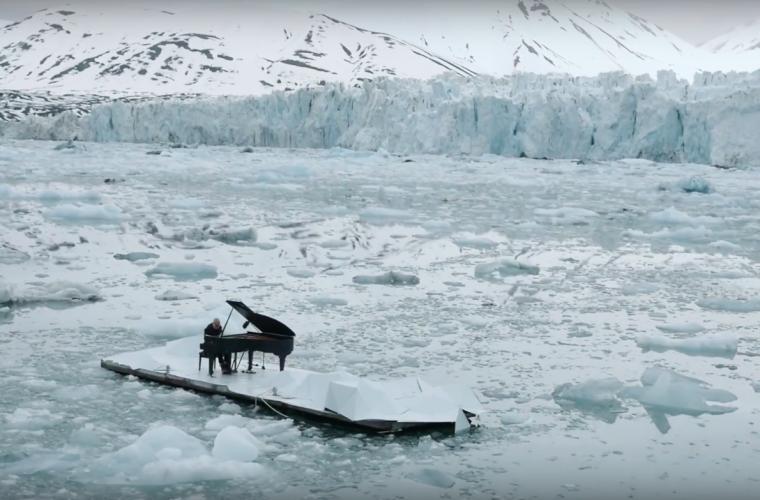 Il Pianista sull'Oceano Artico