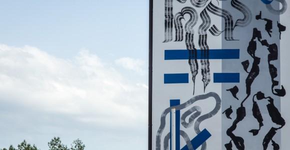 Strutture Letterali - Il muro di Domenico Romeo ad Altrove III | Collater.al