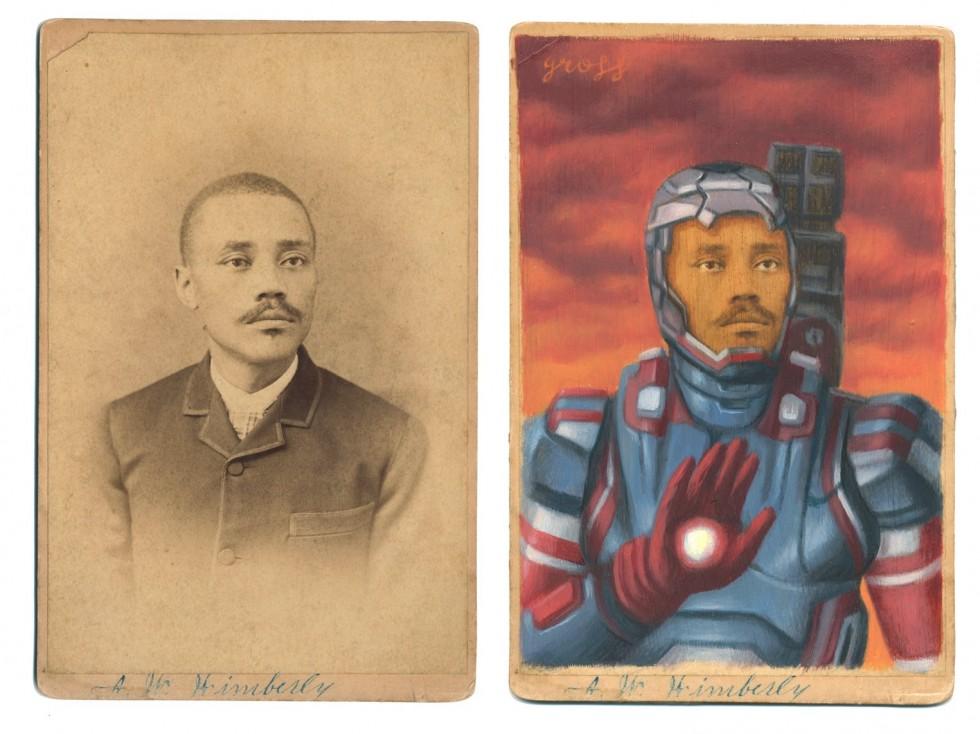I supereroi vintage di Alex Gross | Collater.al