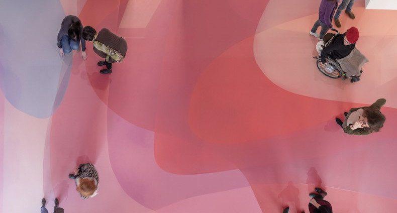Il pavimento candy minimal di Peter Zimmermann