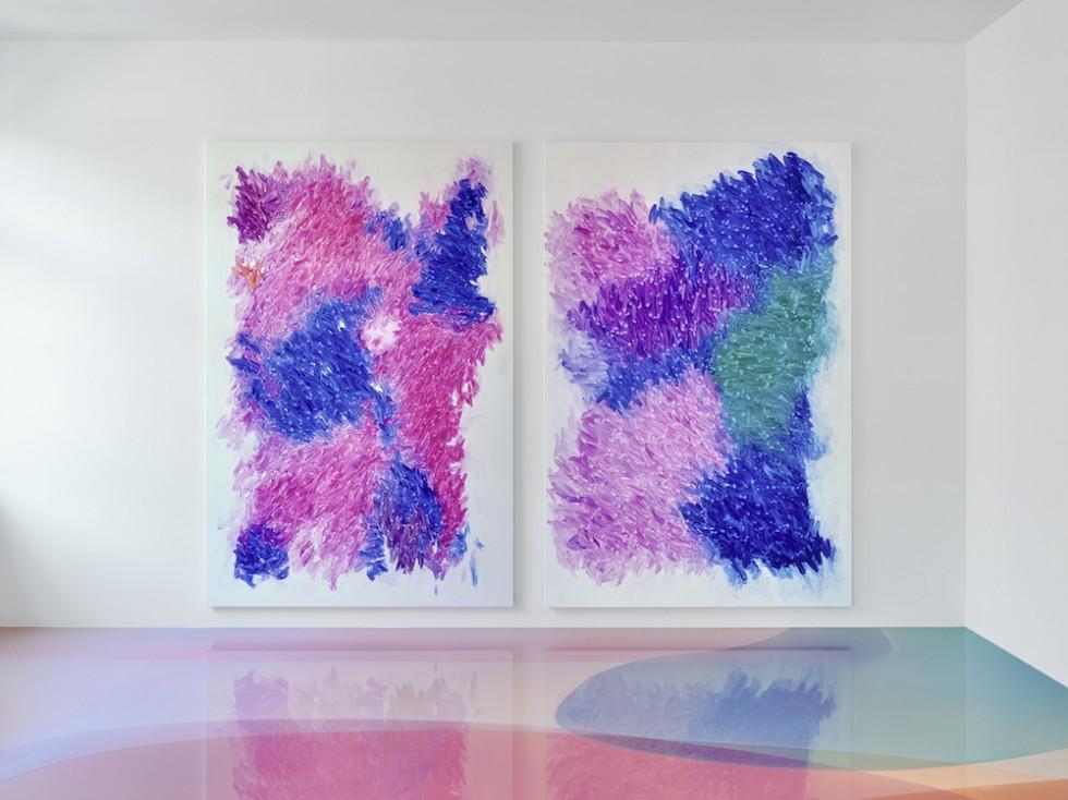 Il pavimento candy minimal di Peter Zimmermann | Collater.al